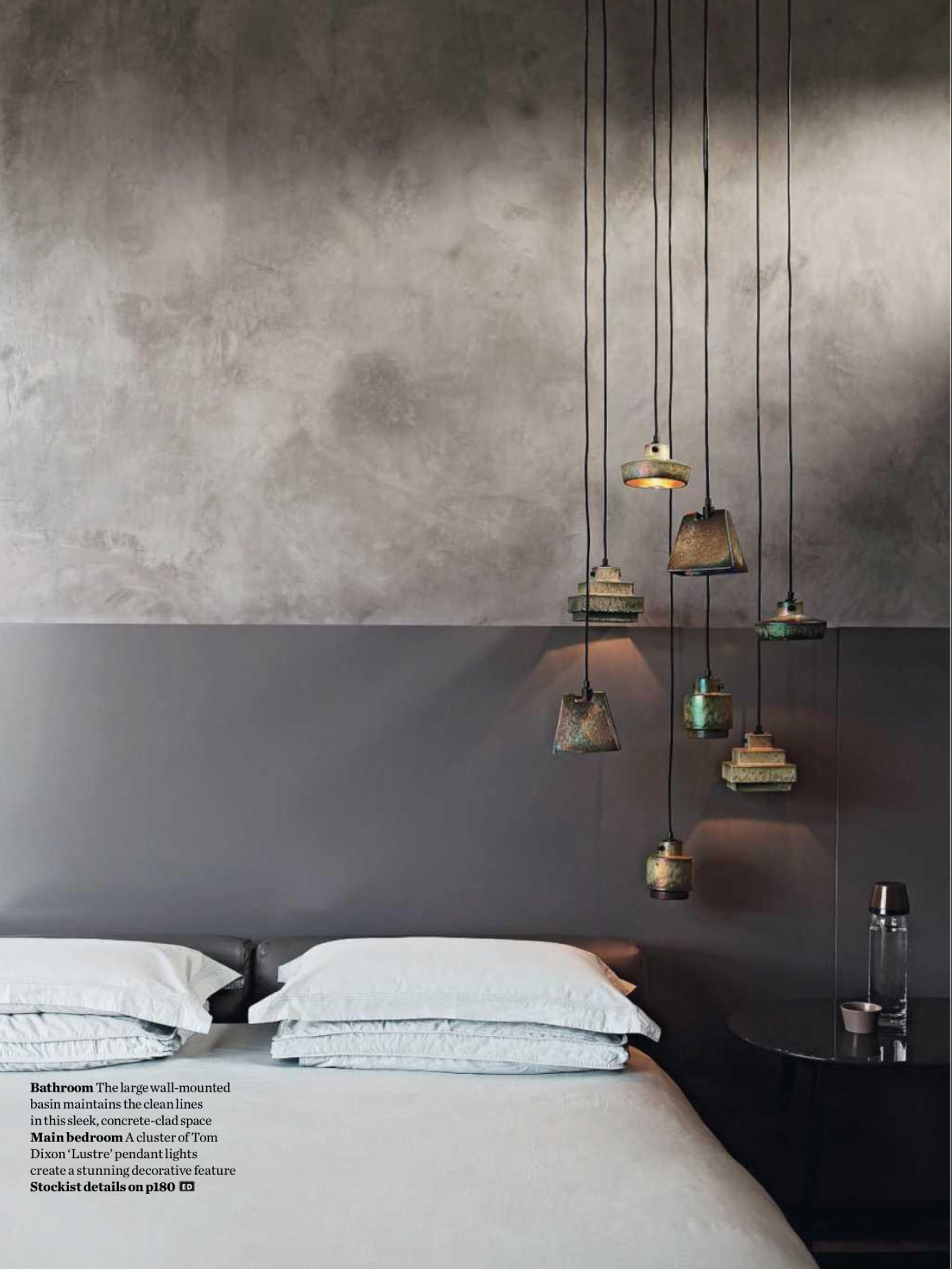 Tom Dixon Pendent Bedroom Design Design Elle Decor