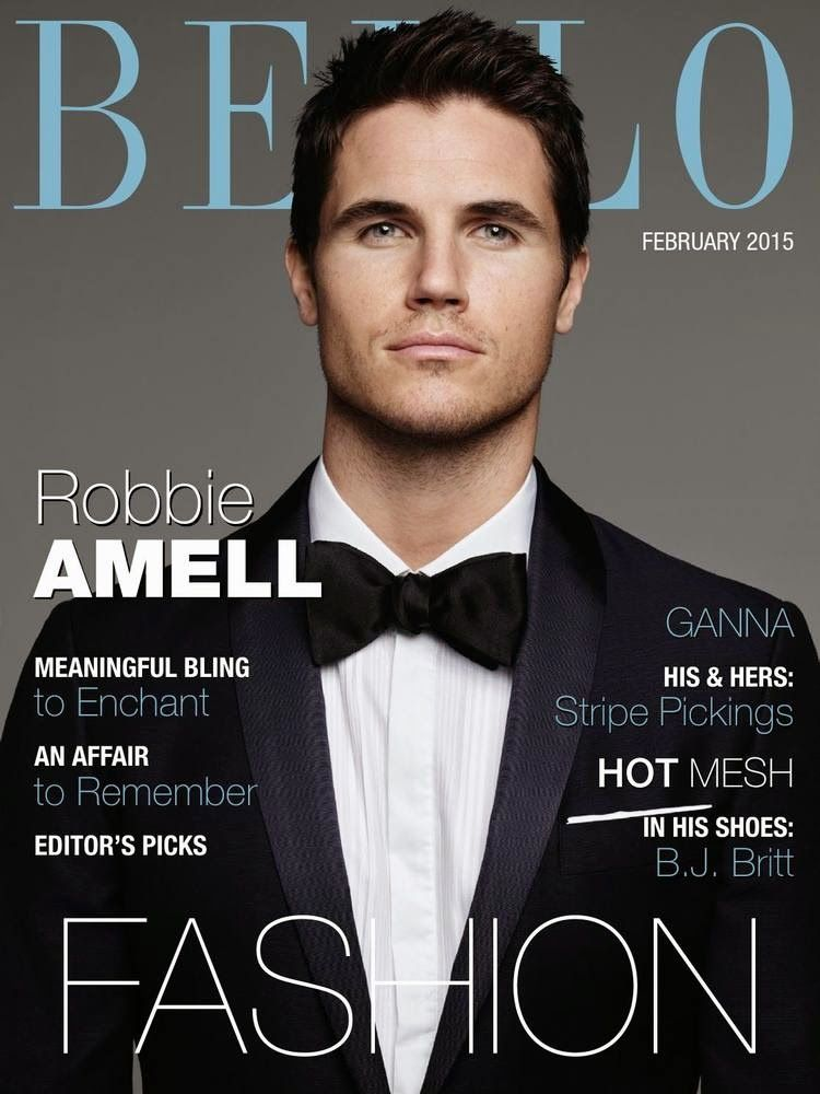 Robbie Amell para BELLO Magazine