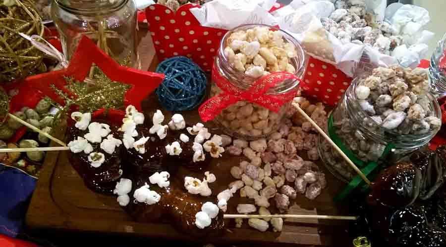 Garrapiñadas e higos caramelizados para Navidad