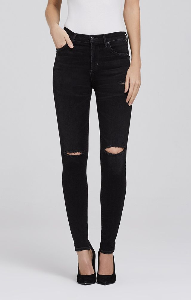 bf2ee00f109 Citizens of Humanity 'Rocket' Skinny in Distressed Darkness | New ...