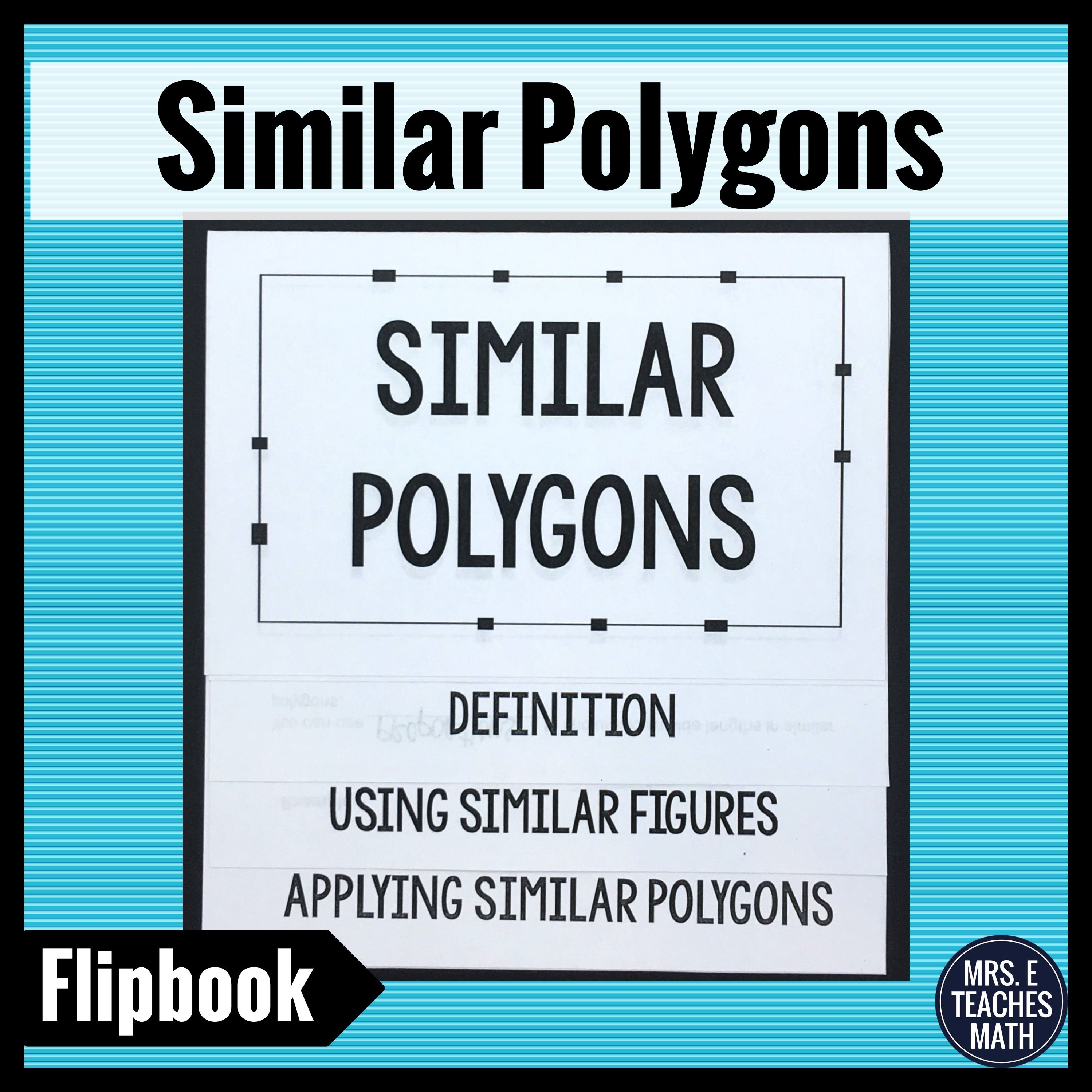 Similar Polygons Flipbook