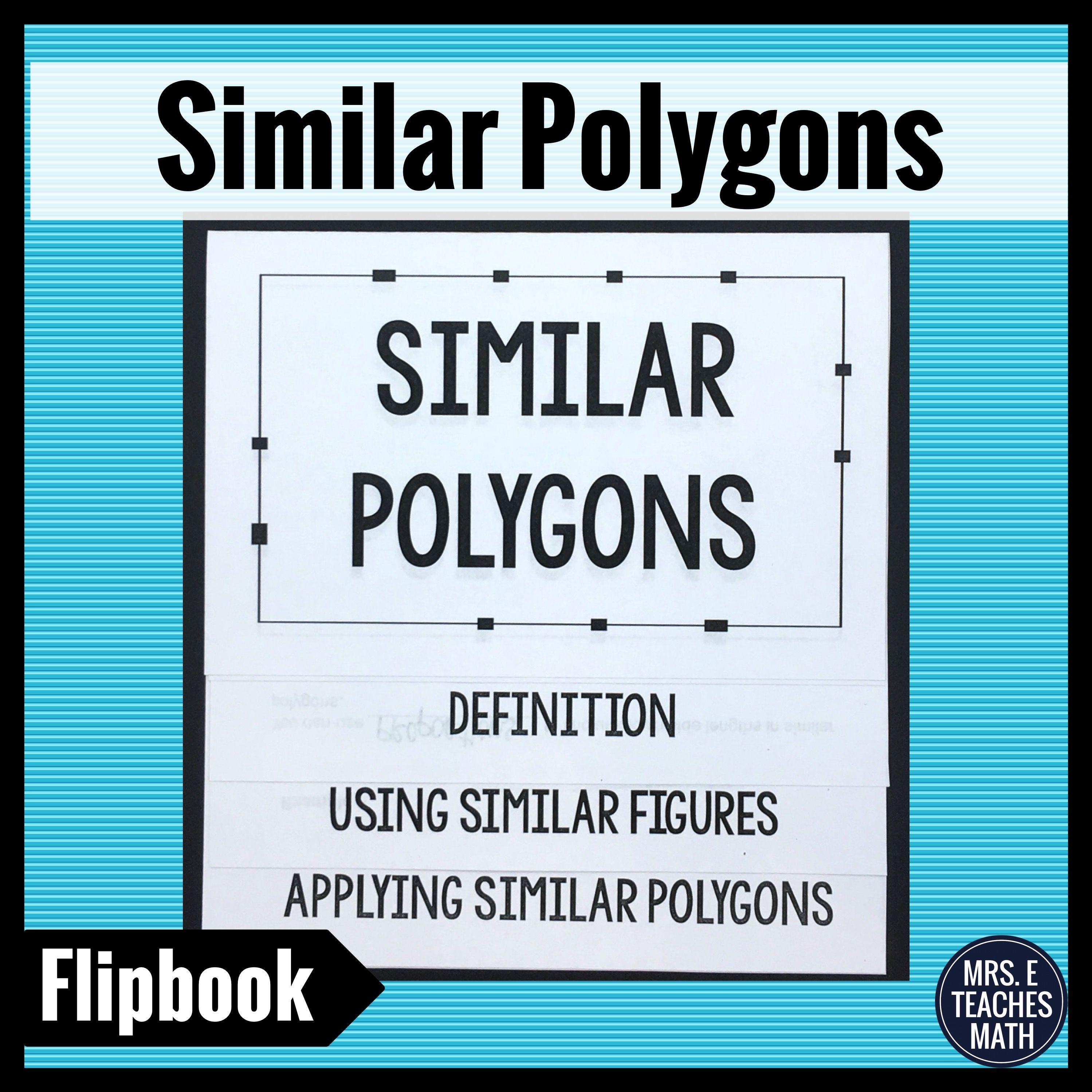 Similar Polygons Flipbook