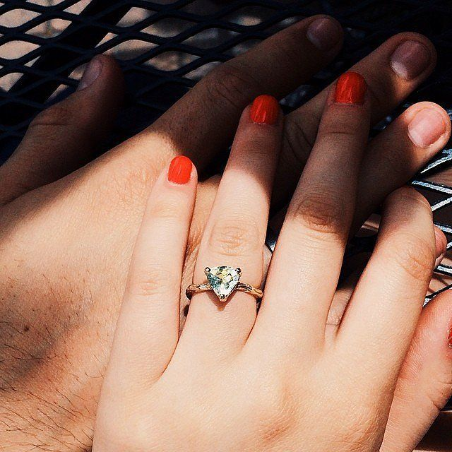 Pop Perfect Ring Diamontrigue Jewelry: 50 Real-Girl Engagement Rings To Swoon Over