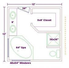 12 X 12 Master Bathroom And Closet Google Search Master