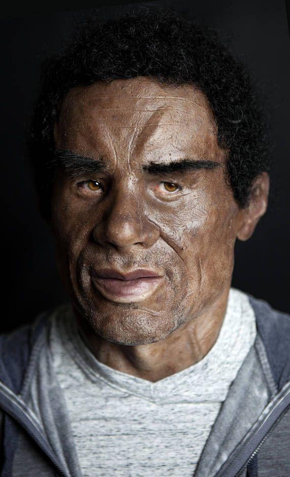 Black Man Silicone Mask