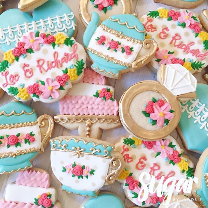 Memorable Tea Party For Bridal Shower Ideas