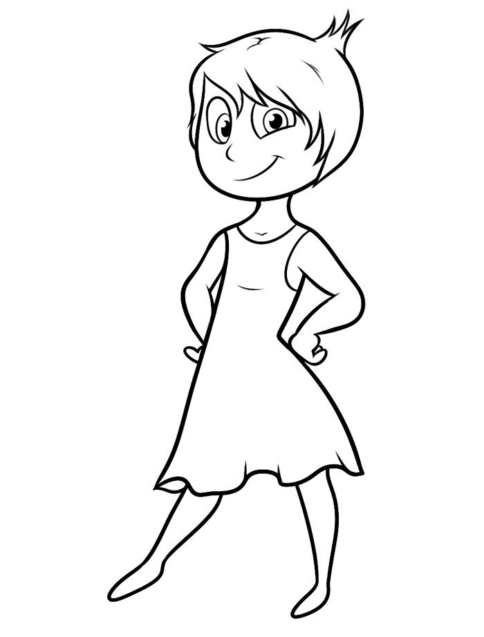 Inside Out Coloring Pages Best Coloring Pages For Kids Inside Out Coloring Pages Disney Coloring Pages Coloring Books