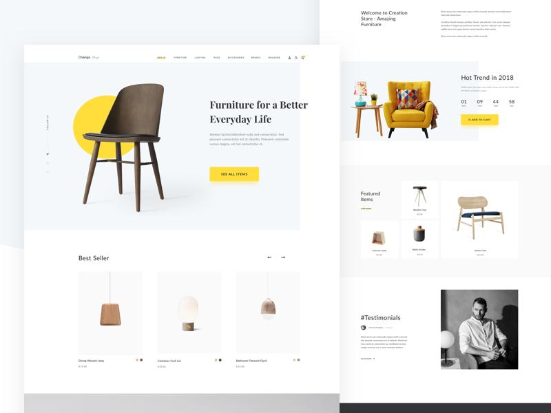Furniture Pages Web Design Web Furniture Fun Website Design