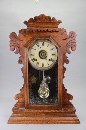 Antique Ansonia Mantel Clock Vintage Clock Antique Clocks