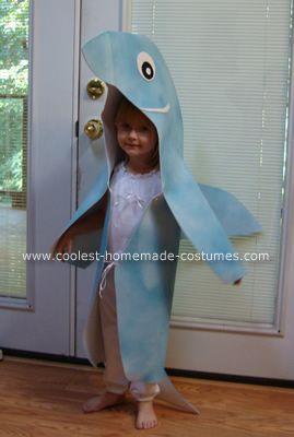 homemade whale costume