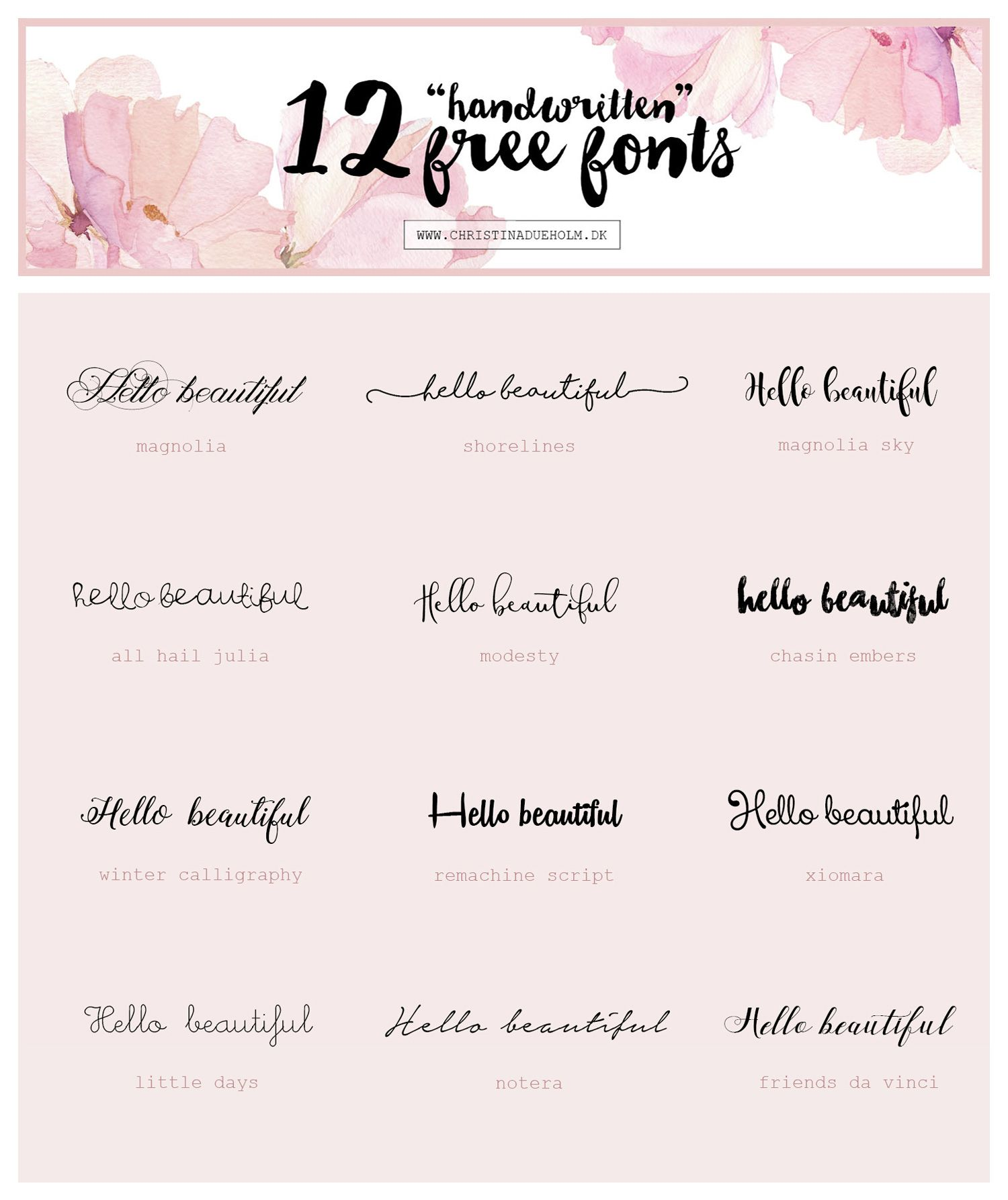 Free Tattoo Fonts Fonts
