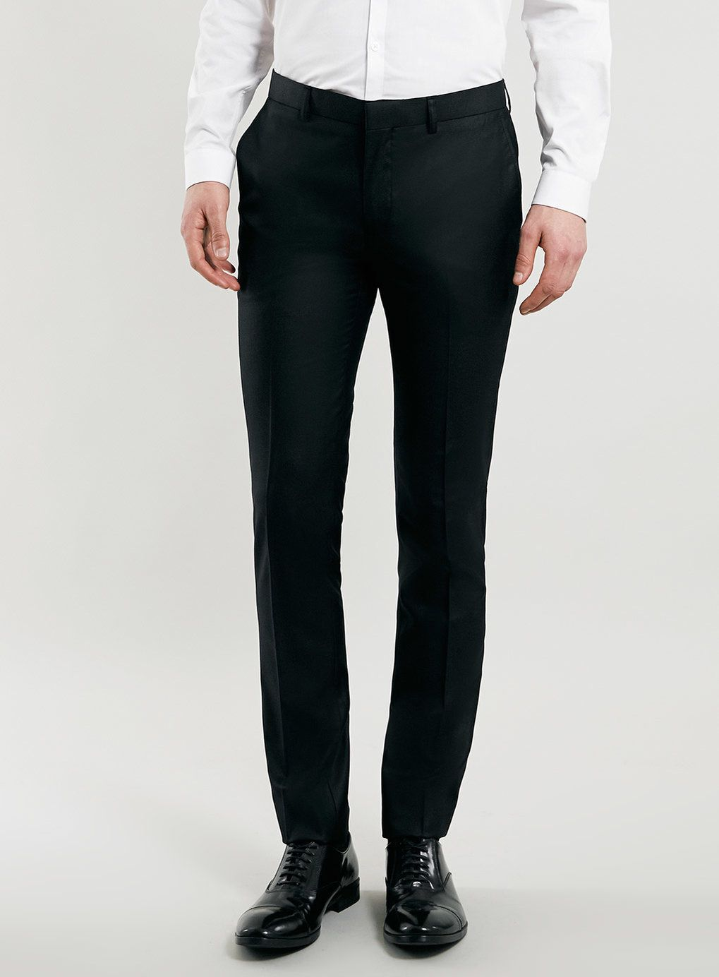 Black Ultra Skinny Suit Pants | Skinny suits