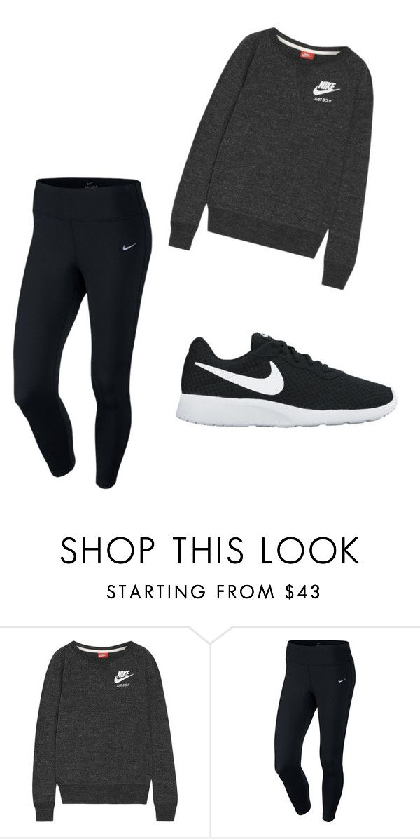 """Untitled #2"" by jelenakeser on Polyvore featuring NIKE"