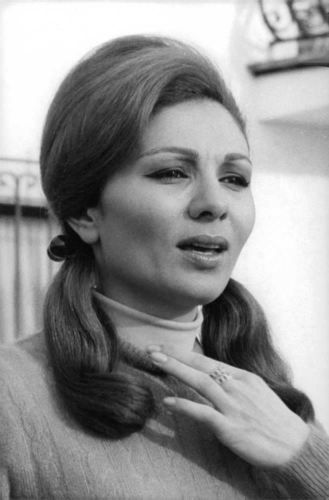 Vintage Photo Of Close Up Of Farah Pahlavi In St Moritz Farah Farah Diba Vintage Photos