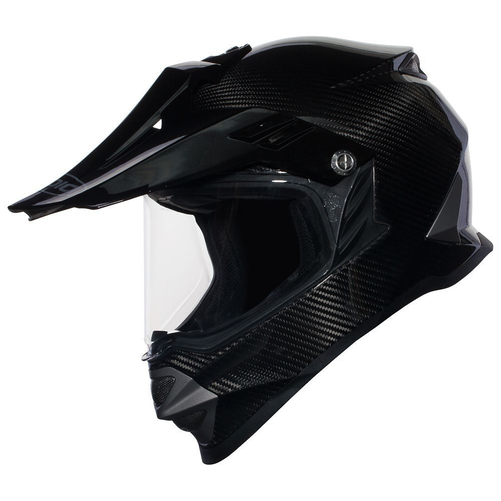 SEDICI Avventura Carbon Adventure Motorcycle Helmet - SM, Carbon. Extra lightweight carbon fiber construction is reinforced with KEVLAR Fiber to reduce rider fatigue. Ventilation system includes chin and forehead intake vents with multi-port exhaust vents. Removable polycarbonate visor for versatility. Removable scratch resistant, anti-fog faceshield. Removable and washable antibacterial dual density liner. 5mm adjustments in the forehead and cheek pads for a custom fit. Meets or exceeds…