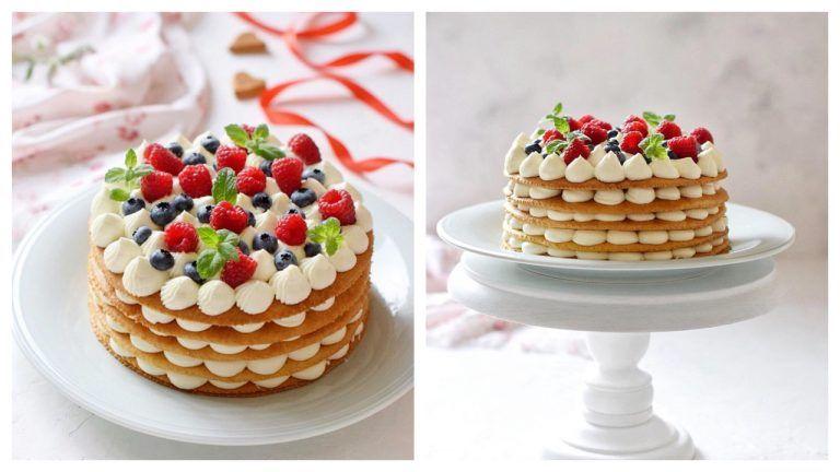 Dad Reseptorlari Fəth Edən Bal Kokos Tortu Desserts Food Cake