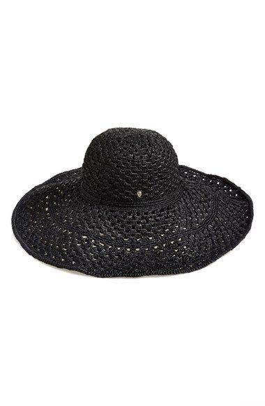 Helen Kaminski Crocheted Raffia Hat available at  Nordstrom  d3b3f47f843