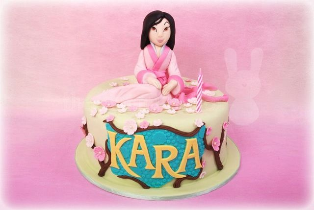 Excellent Lovely Mulan Cake With Images Disney Themed Cakes Disney Cakes Funny Birthday Cards Online Bapapcheapnameinfo