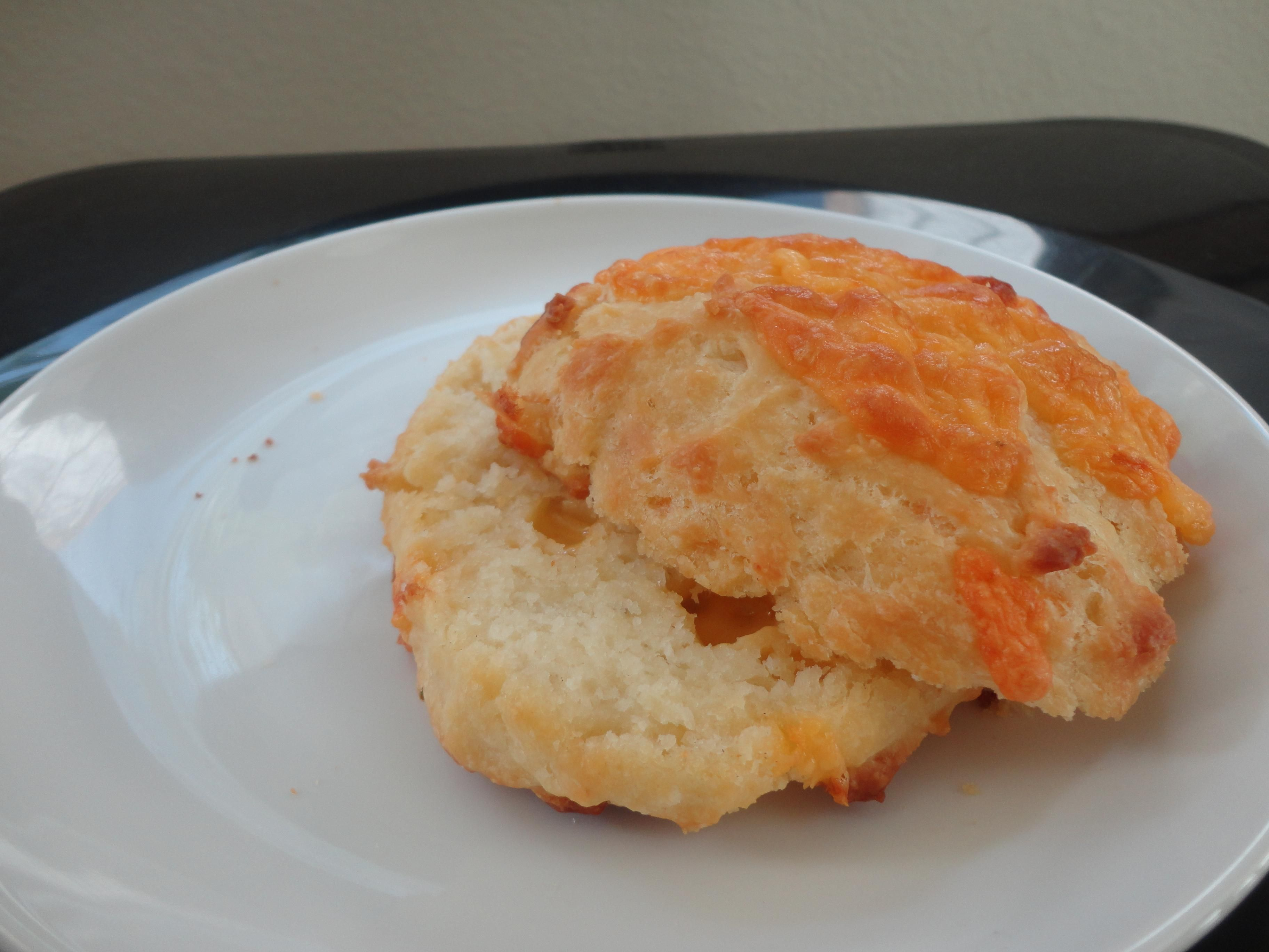 Buttermilk Cheddar Cheese Biscuits   recipe from Buttercream Barbie