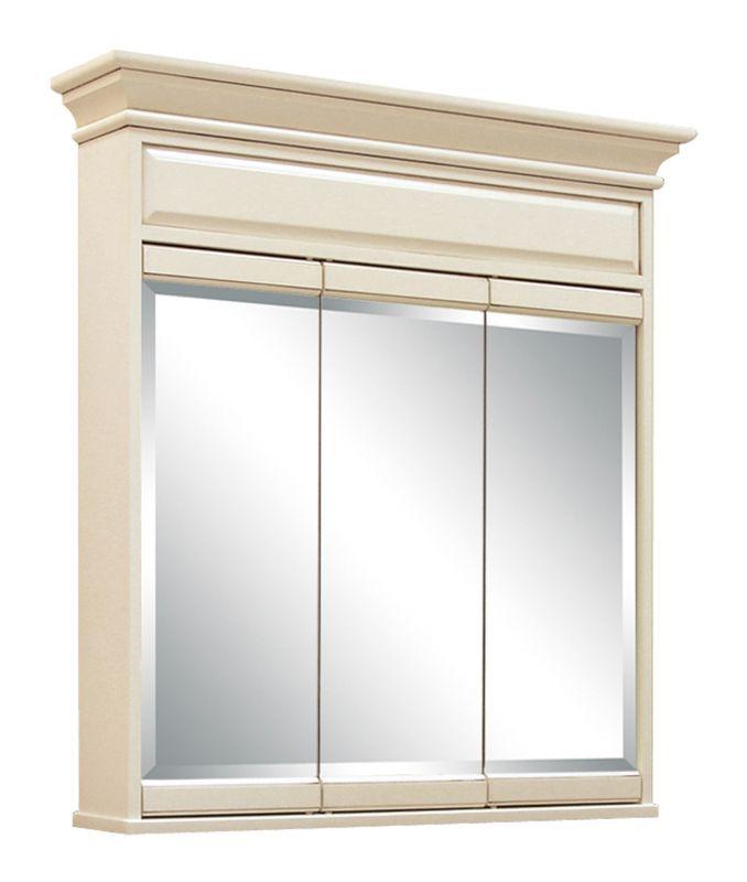 Sunny Wood Sl3638t Sanibel 36 Triple Door Surface Mount Framed