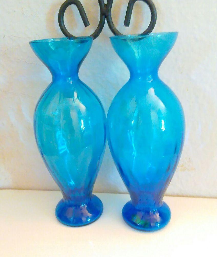 Set glass vases altern aquablue teal color home deco inspirational set glass vases altern aquablue teal color home deco inspirational dinner table reviewsmspy