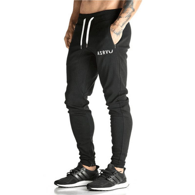 Pantalones Para Hombre pantalones de Chándal de Algodón oros Gimnasio  Flacas Joggers Sweat Pants Pantalones Chandal hombre Pantalones Casuales  3743e69af1a5