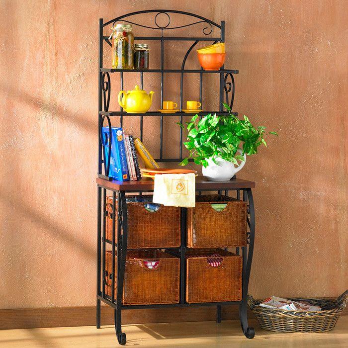 Lillianna Steel Baker S Rack Bakers Rack Decor Home Decor