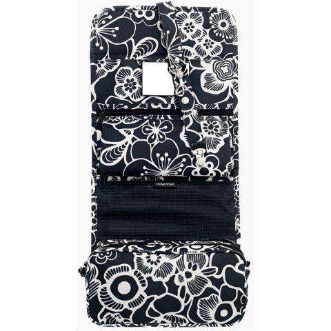 reisenthel wrapcosmetic fleur black trousse de toilette a suspendre trousse de toilette. Black Bedroom Furniture Sets. Home Design Ideas