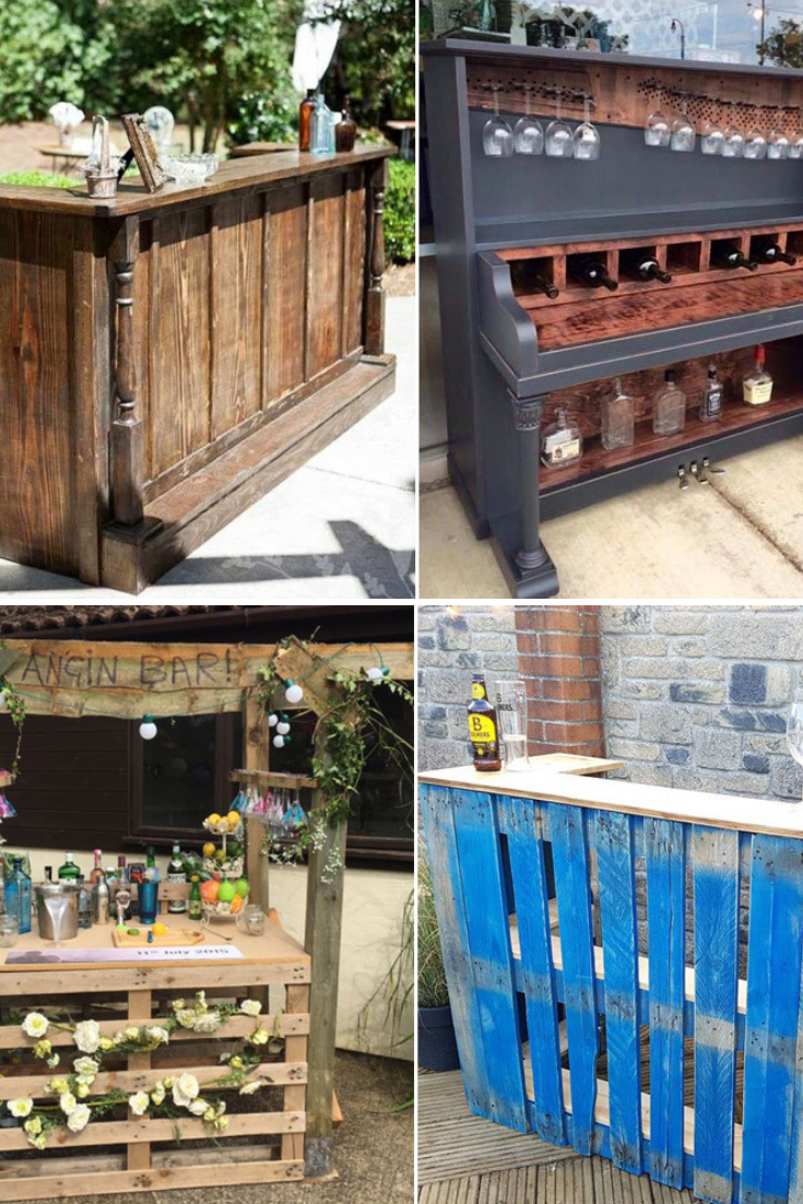 Here's How You Can Make Your Own DIY Garden Drinks Bar ...