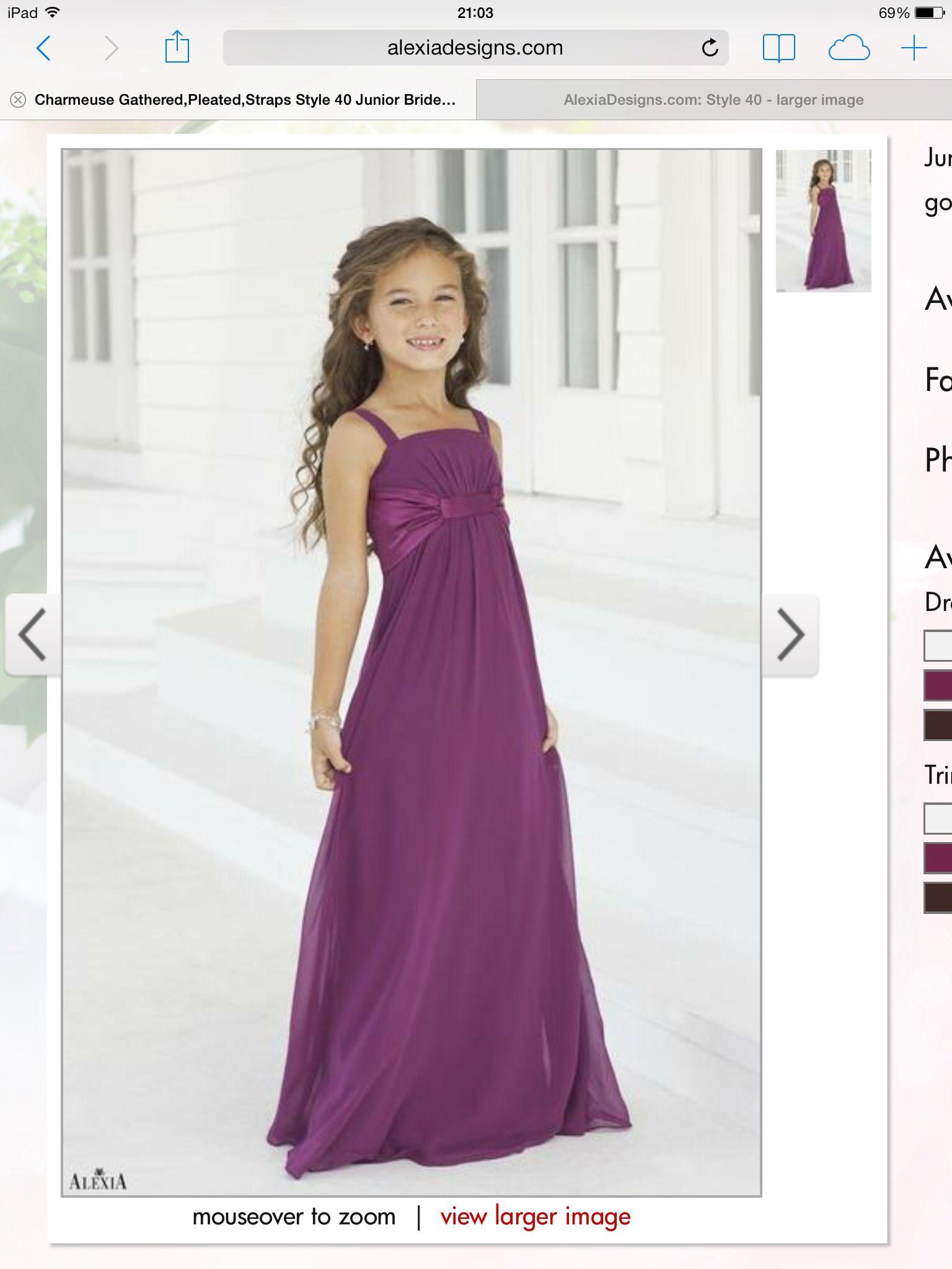 Fineson - Alexia bridal | niñas | Pinterest