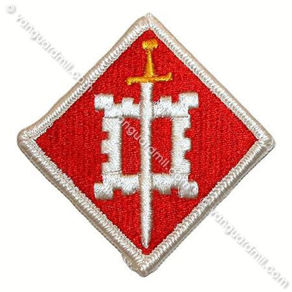 Army Patch: 18th Engineer Brigade - color