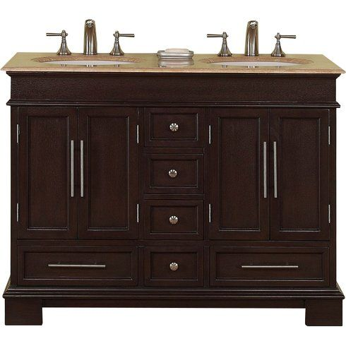 It\'s the most compact double sink vanity ever! Great for any shared ...