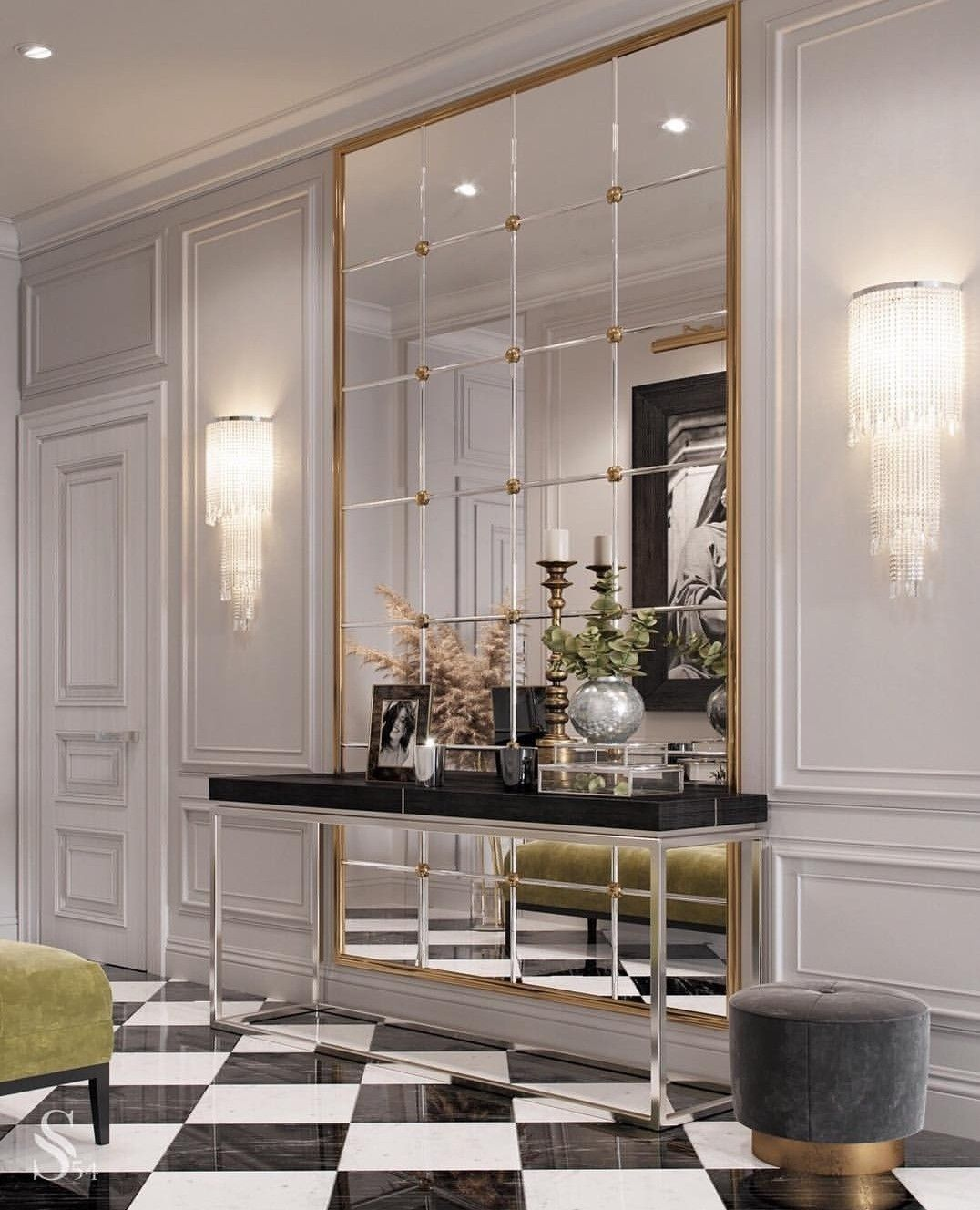 Modern Glam Space Modern Vibe From Black White Gray Plus Use