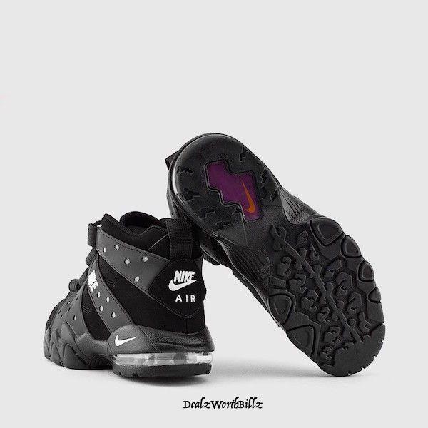 kids shoes NIKE AIR MAX CB 94 BARKLEY BLACK SILVER BASKETBALL SZ 6.5Y #Nike