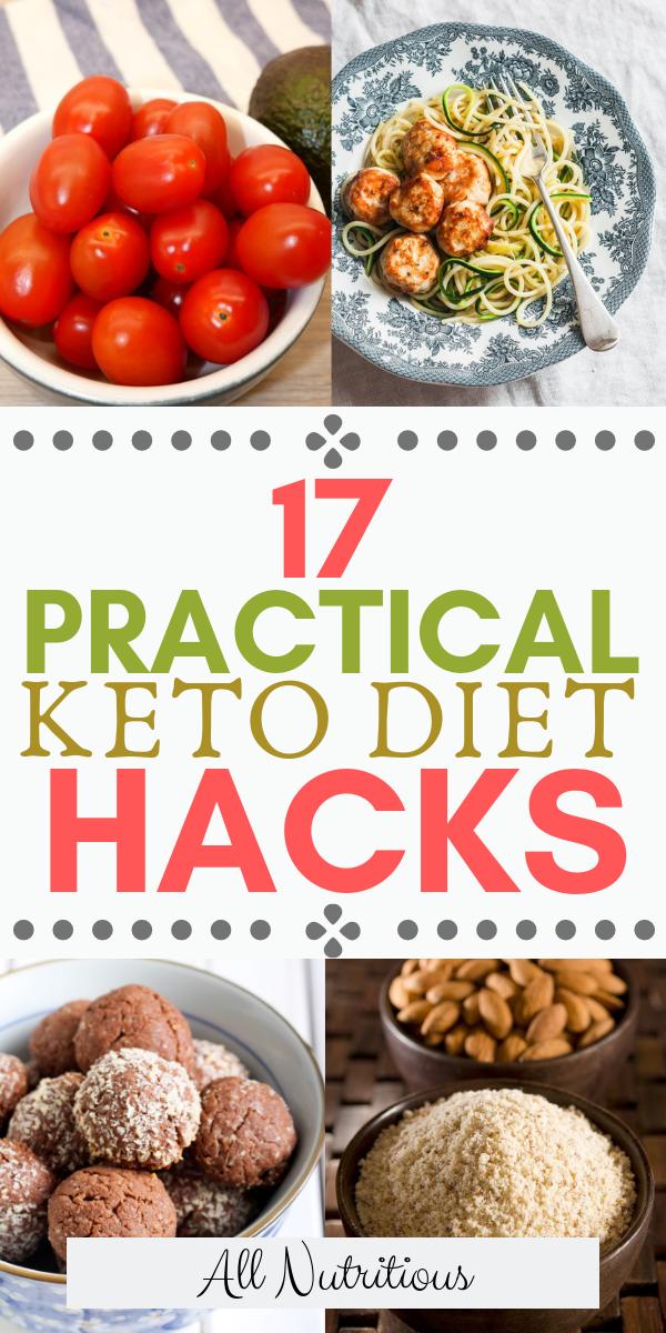 Photo of 17 Praktische Keto-Diät-Hacks