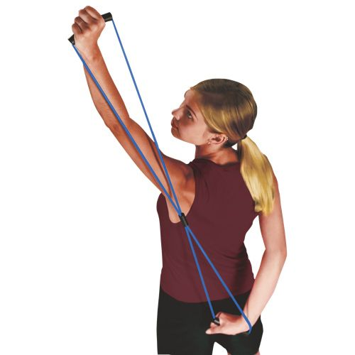 Image result for Figure 8 elastic yoga band