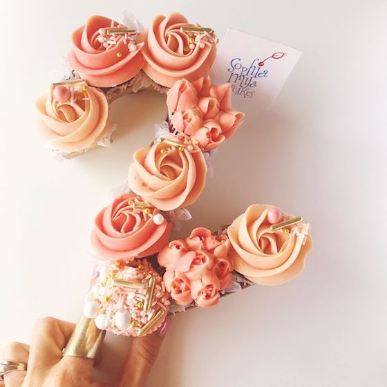 Beautiful and Creative Number Cakes