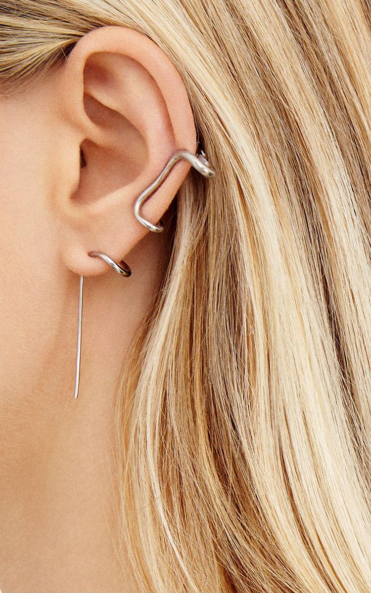 Single Ivy Earring My Lost Jewelry Minimalist Earrings