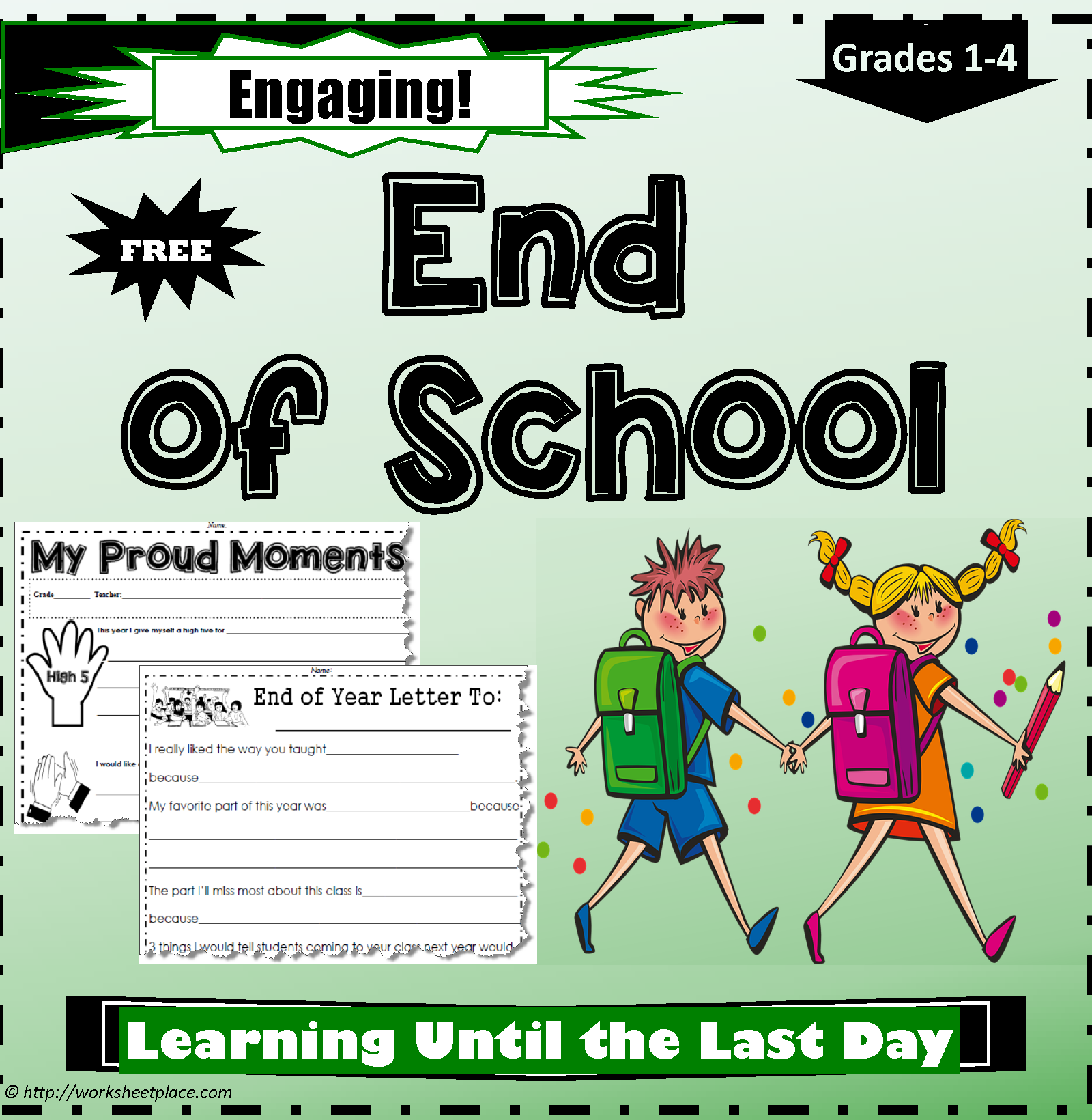 End Of Year Teaching Ideas And Printables Fun Activities
