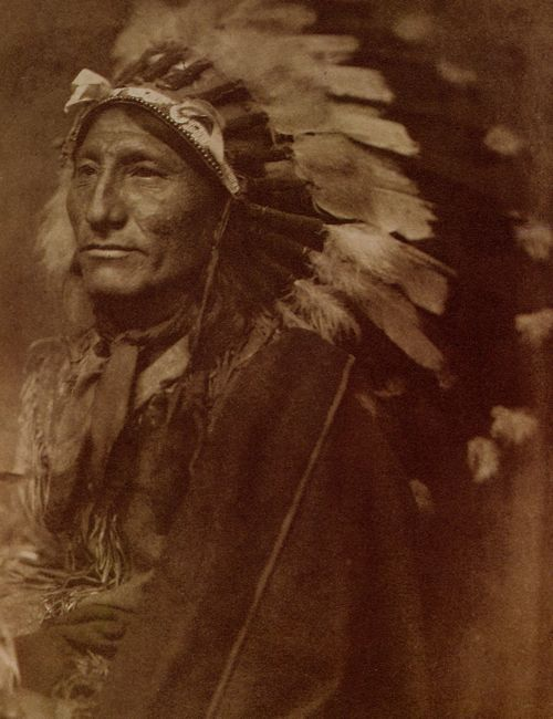 Gertrude Käsebier - Indian Chief, c. 1901. S)