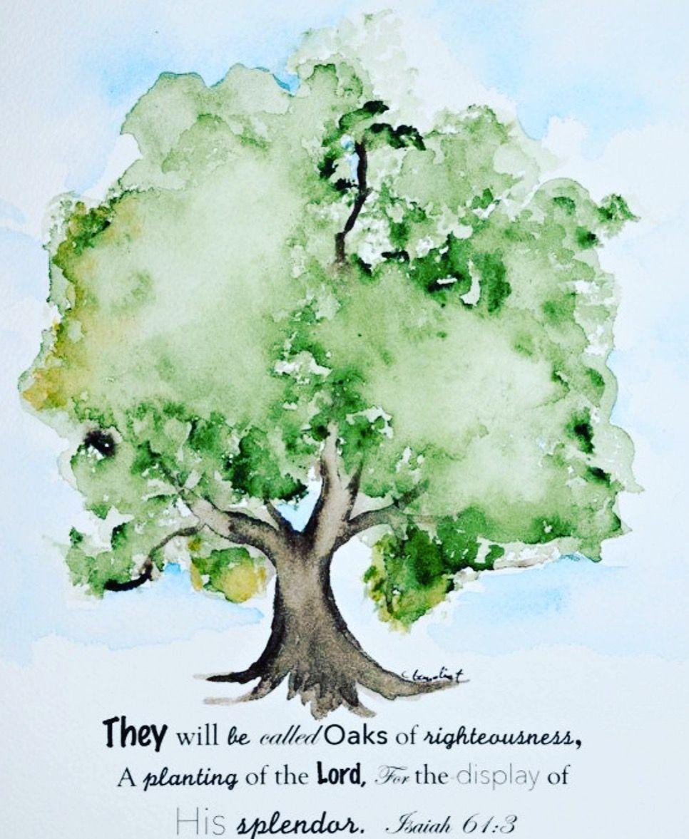 Idee Von Sylvia Ehlers Auf Malen Wasserfarben Baume Baumbilder