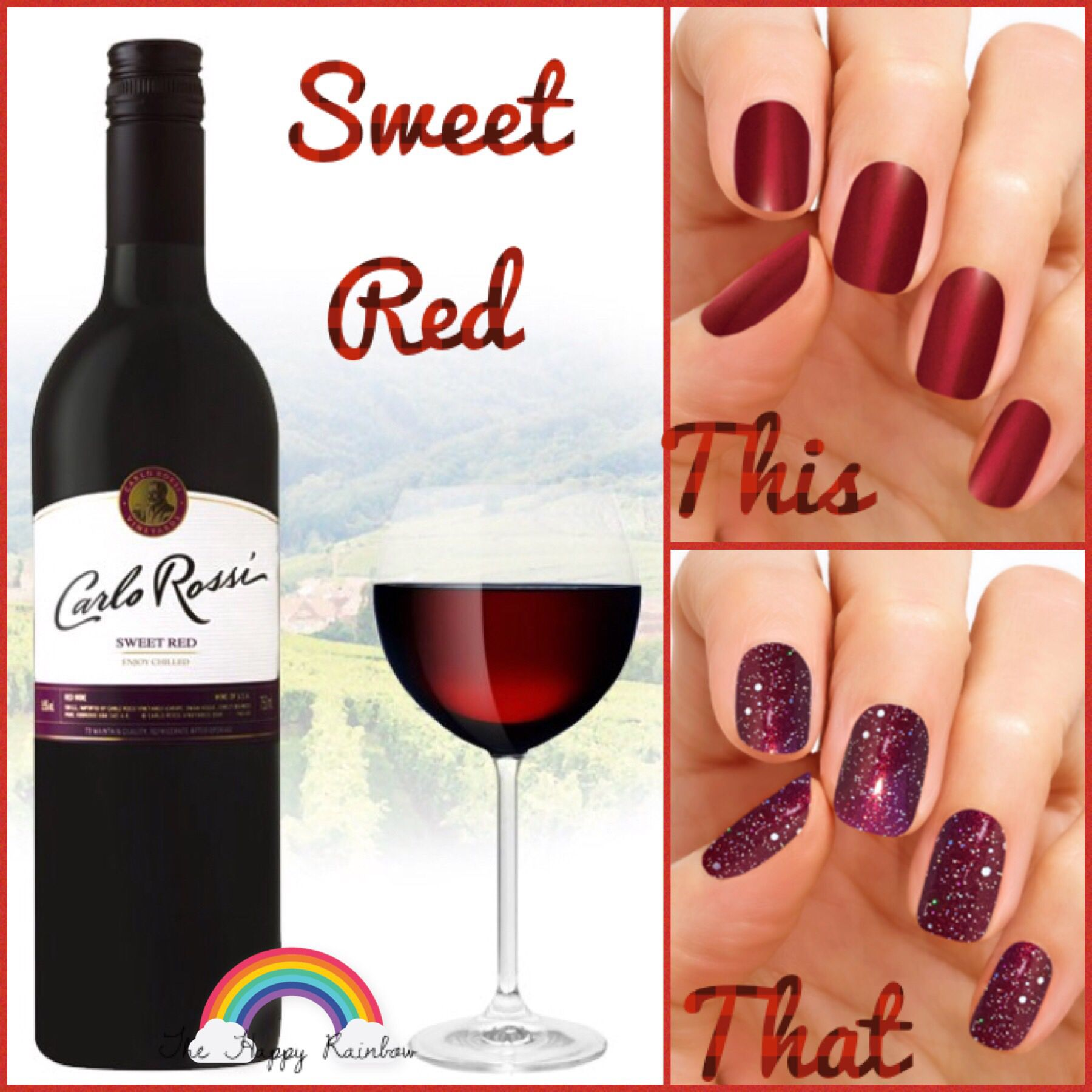 Do Your Nails Pair With A Good Glass Of Wine Wine Nails Color Street Nails Color Street