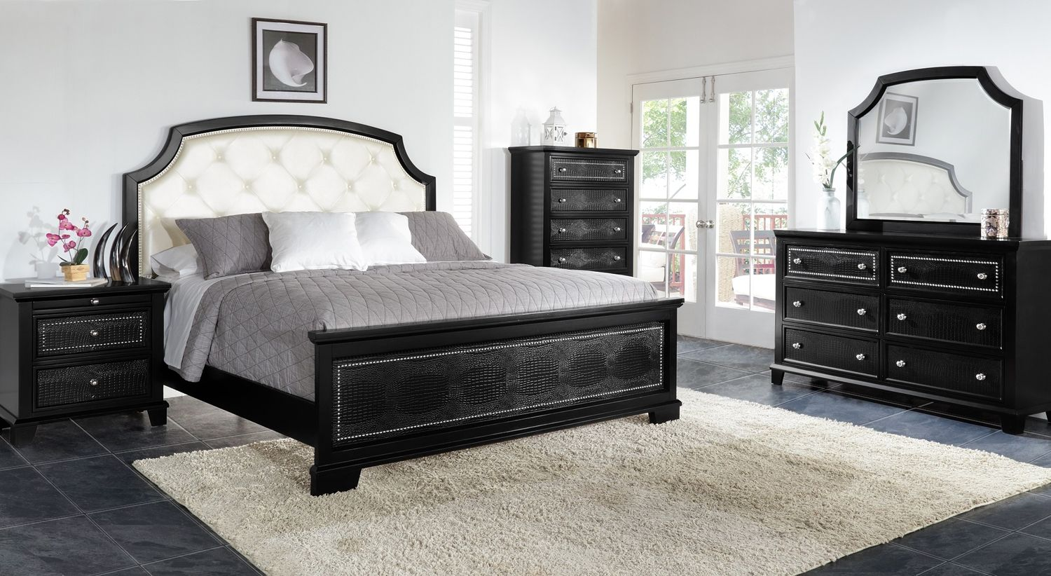 Marlina Bedroom Collection Leon S 800 For The Bed Frame