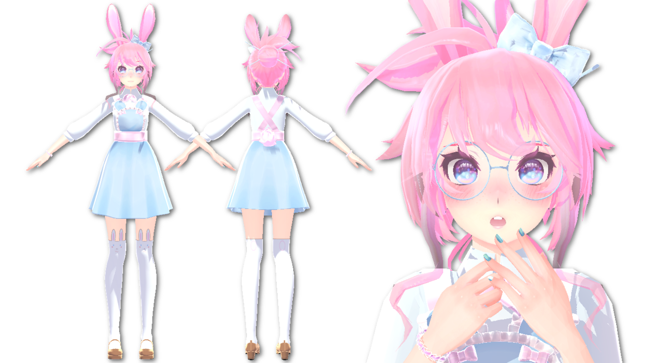 Pastel Goth Wallpaper Girl Pin By Gesta24 On Mmd Pinterest Bunny Avatar And Anime