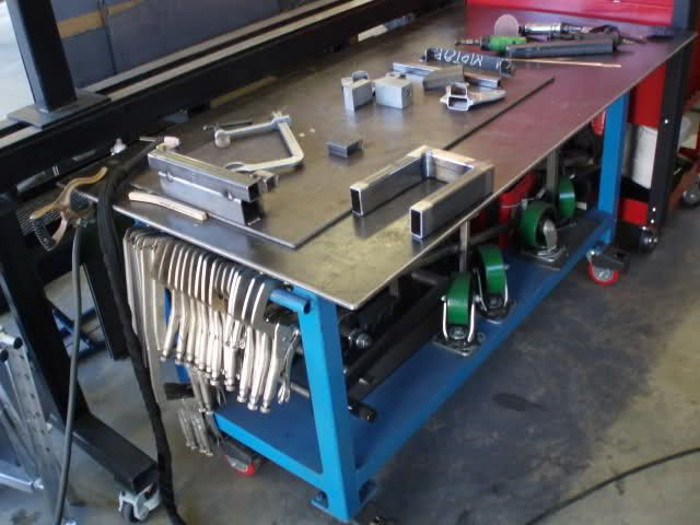 Welding Table Designs acorn cast iron platen welding table Welding Table Options The Garage Journal Board