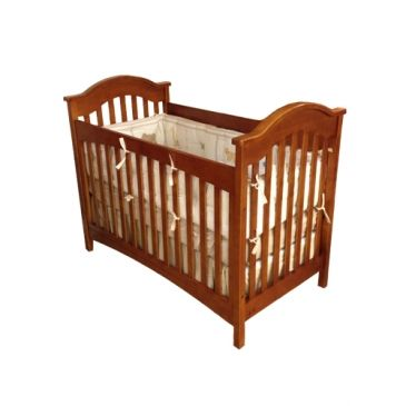 Charlie Classic Curve Top Crib   Cribs to College Bedrooms   Baby ...