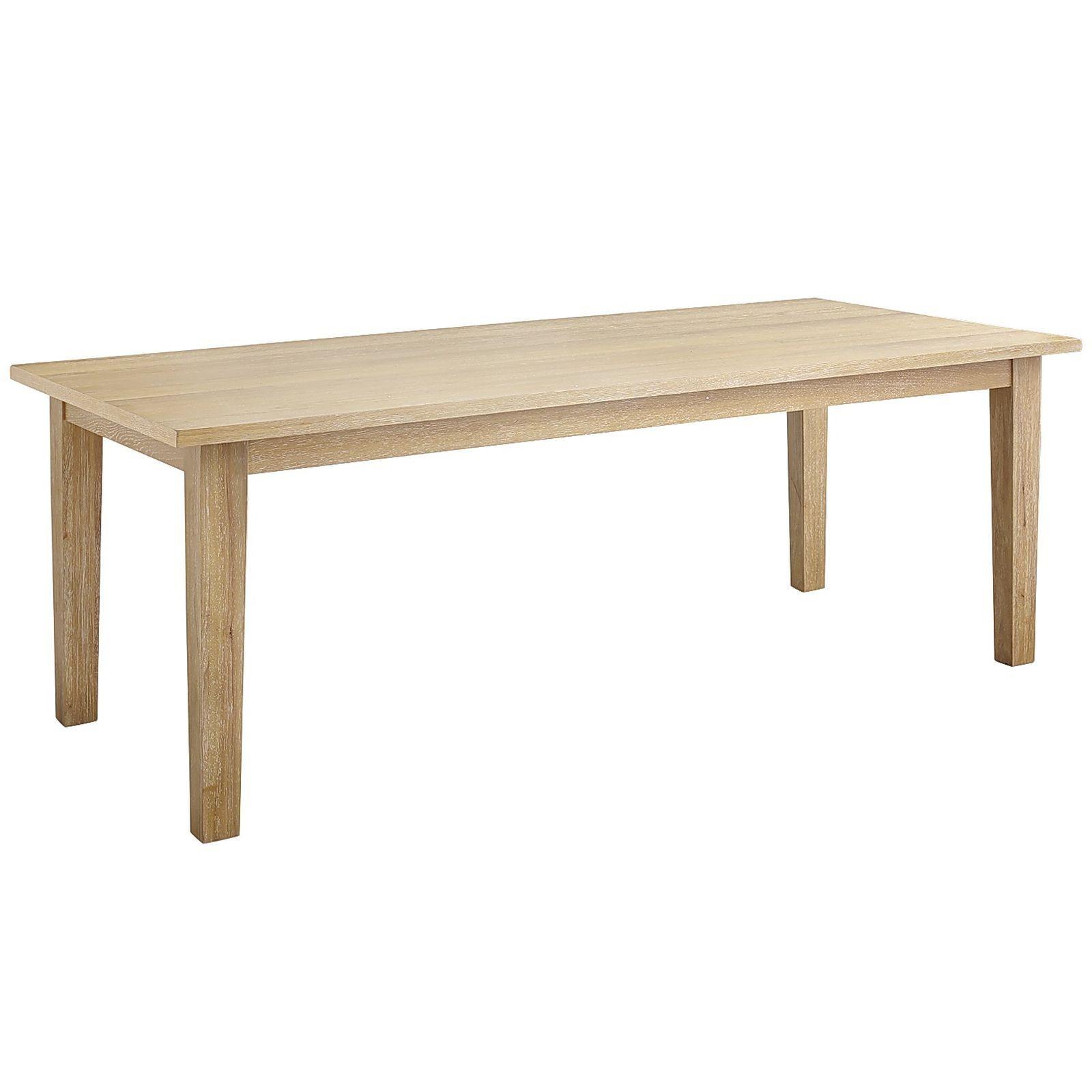 • 84w x 42d x 30h • engineered wood rubberwood wood veneer • seats 8 comfortably