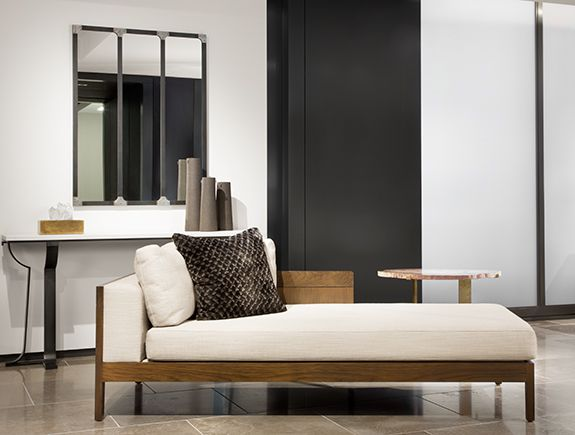 cool holly hunt jupiter chaise with chaise schmidt. Black Bedroom Furniture Sets. Home Design Ideas