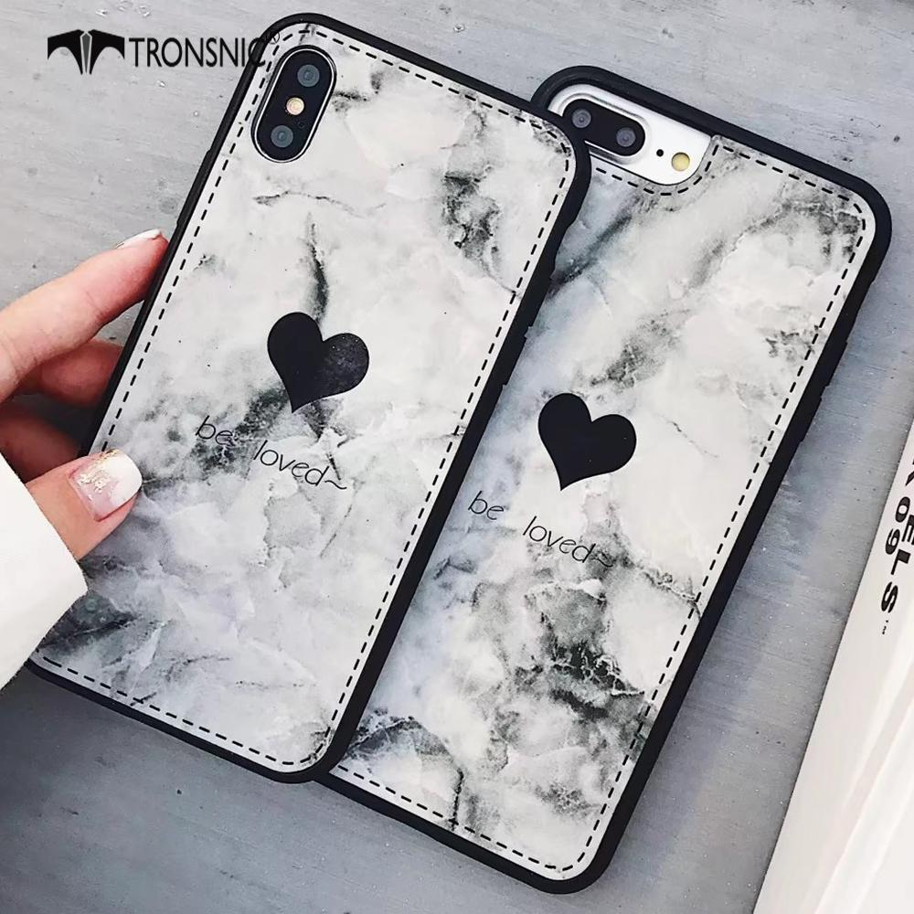 Tronsnic Marble Love Phone Case Cute Phone Cases Outfit Accessories From Touchy Style Animal Black Pretty Iphone Cases Cute Phone Cases Friends Phone Case