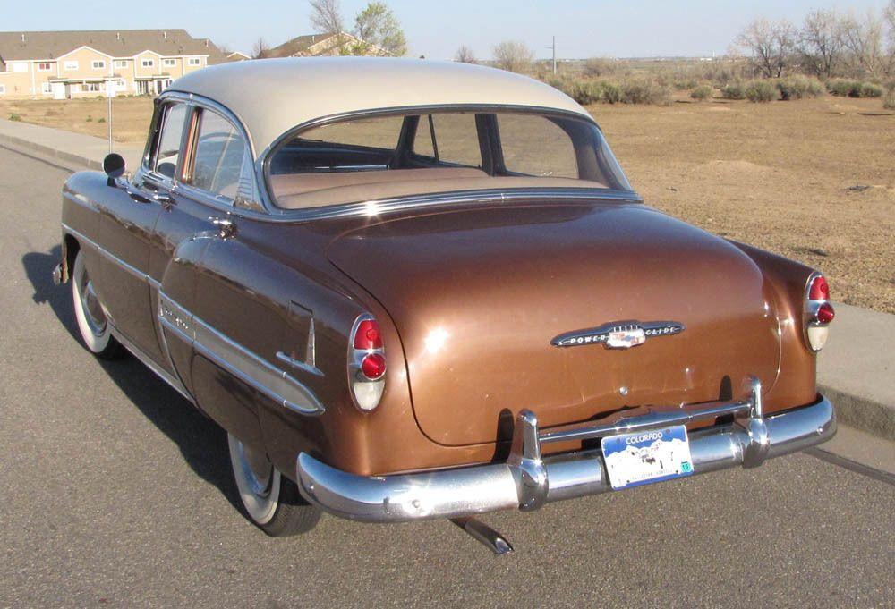All American Slassic Sars 1953 Chevrolet Bel Air 4 Door Sedan Chevrolet Bel Air Chevy Vehicles 1954 Chevy Bel Air
